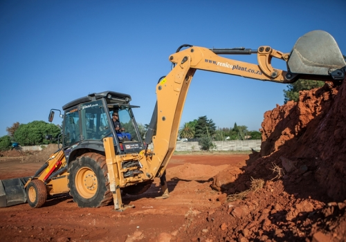 TLB's (Tractor, Loader, Backhoe)