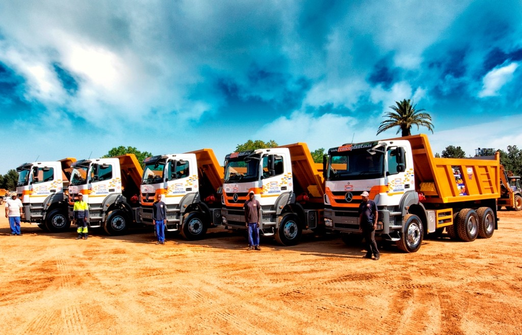 Merc 12 cube 33-350  tippers